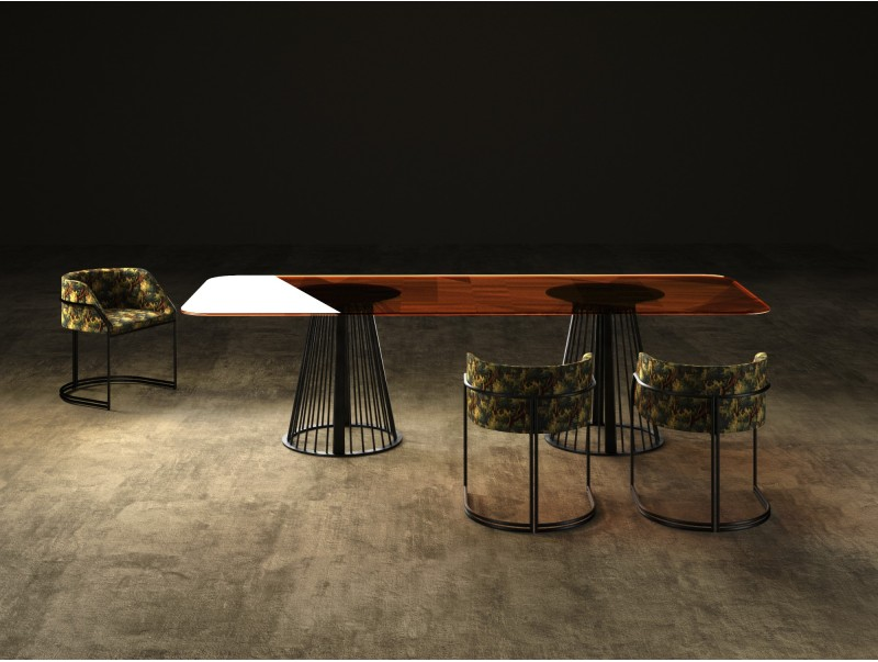 RENDEZ-VOUS LINEAR dining table