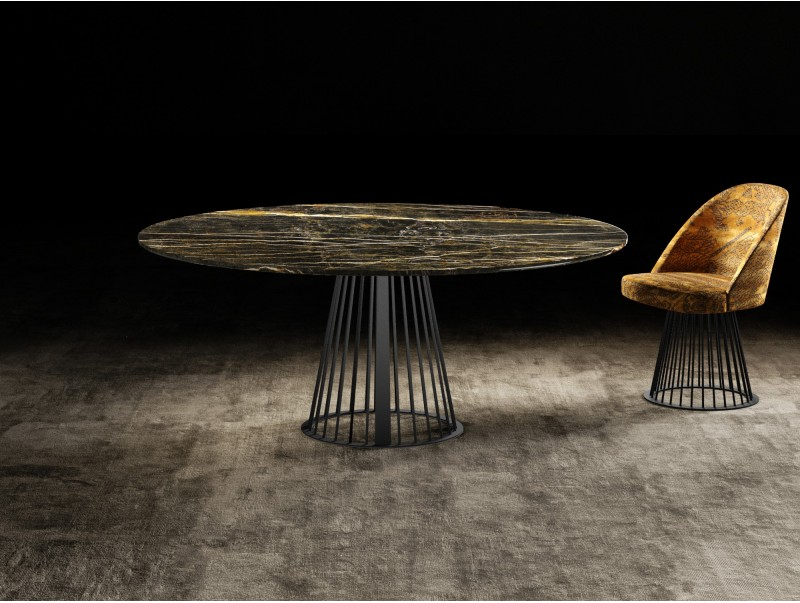 RENDEZ-VOUS ROUND dining table